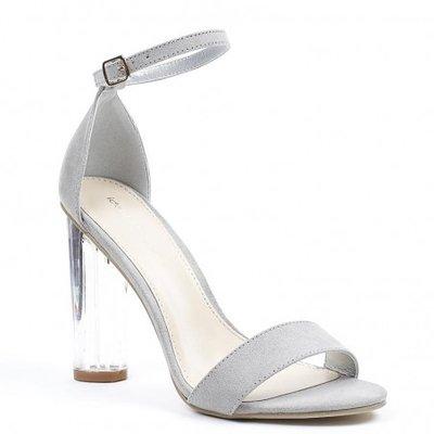 Sandaal met plexihak