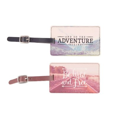 WANDERLUST ADVENTURE LUGGAGE TAG