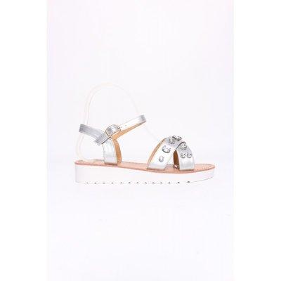 Zilver sandalen
